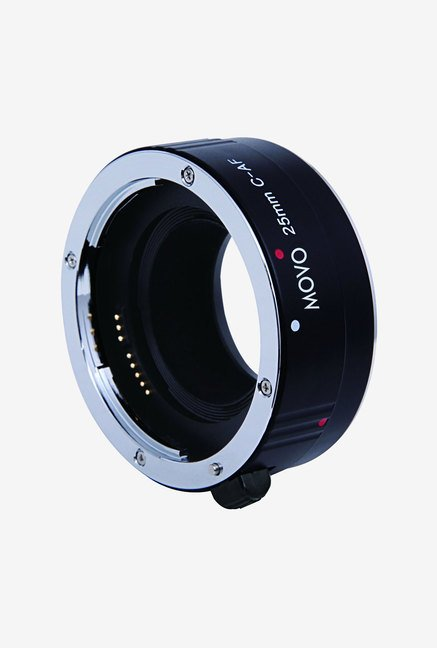 Movo EXT-C25 Photo AF 25mm Macro Extension Tube (Black)
