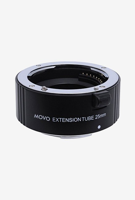 Movo EXT-S25 Photo AF 25mm Macro Extension Tube (Black)