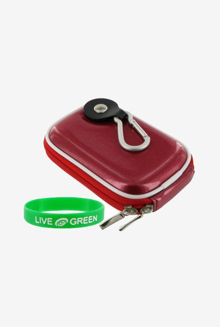 Young Micro Carrying Case for Sony DSC-W180 (Candy Red)