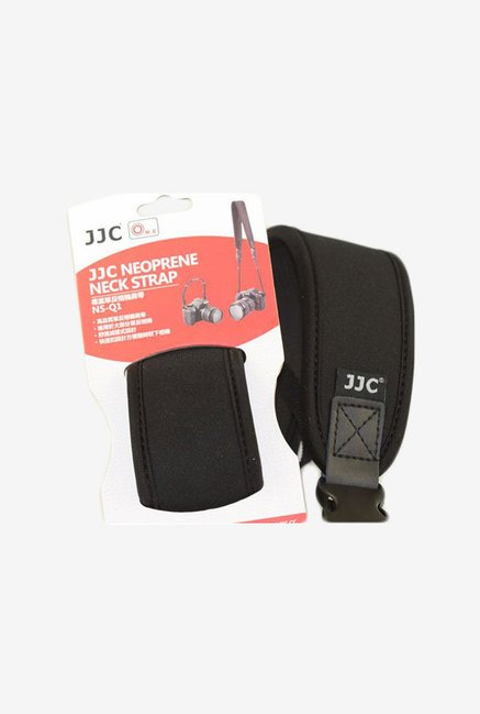 JJC HS2 Neoprene Neck Strap with Quick Release Clip (Black)