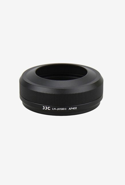 JJC LH-JX100IIB Lens Hood Shade Adapter Ring (Black)