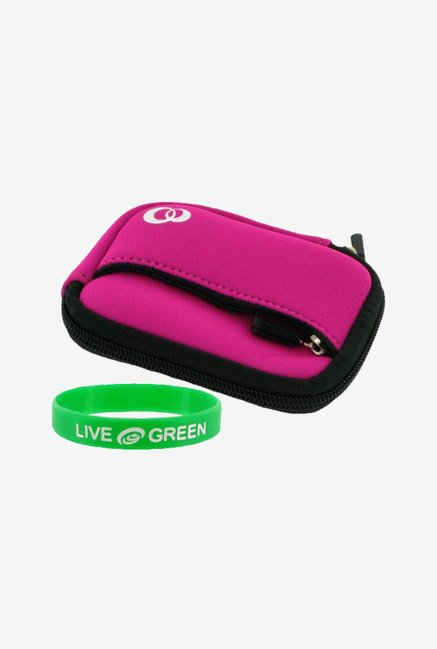 Young Micro Neoprene Sleeve Case for Panasonic Lumix (Pink)