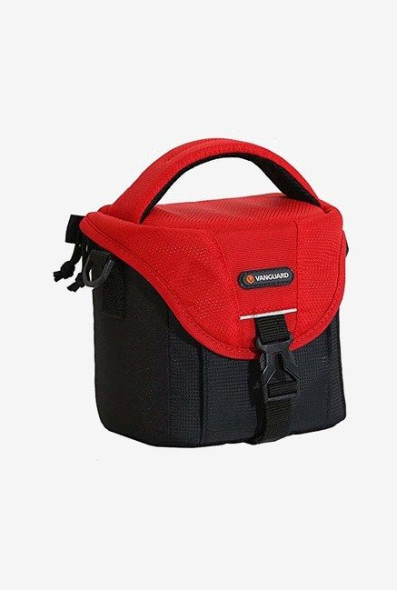 Vanguard BIIN II 14RD Camera Shoulder Bag (Black/Red)