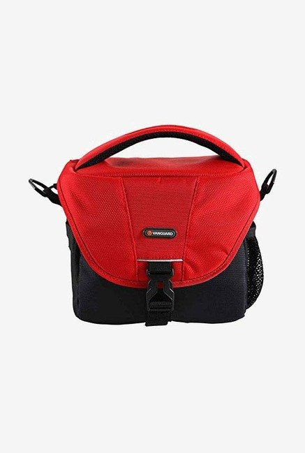 Vanguard BIIN II 21RD Camera Shoulder Bag (Black/Red)