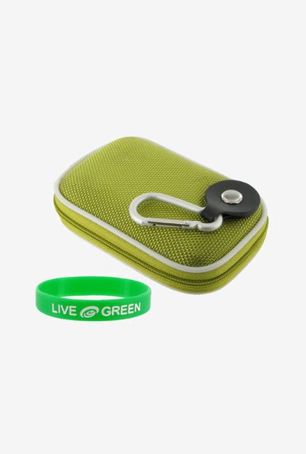 Young Micro Nylon Hard Shell Case for Casio (Green)