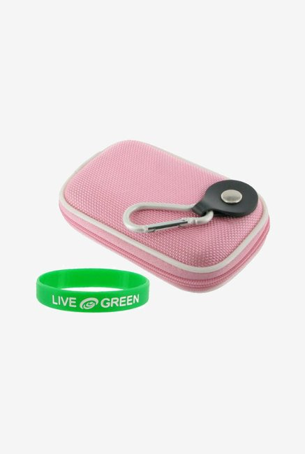 Young Micro Nylon Hard Shell Case for Nikon (Pink)