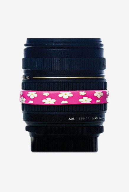 Lens Band Stop Zoom Creep for Zoom Lenses (Hot Pink)