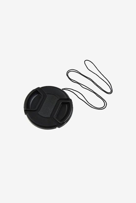 The Camera Hunter centre pinch lens cap for Canon (Black)
