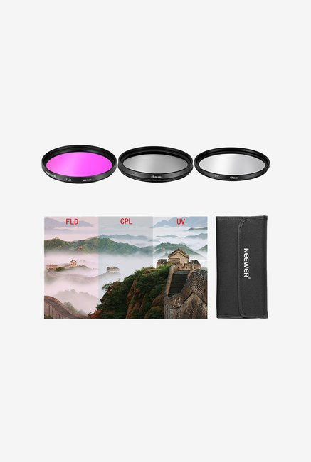 Neewer 49Mm 3Pcs Filter Lens Kit (UV+FDL+CPL)