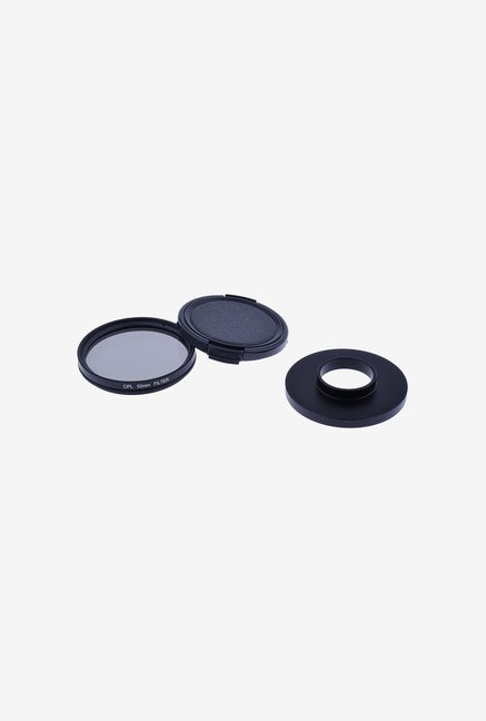 Neewer 52Mm CPL Filter Set For Gopro Hero 3/3+/4 (Black)