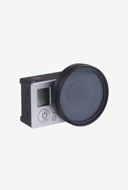 Neewer 52Mm UV Lens Filter Adapter Ring For Gopro (Black)