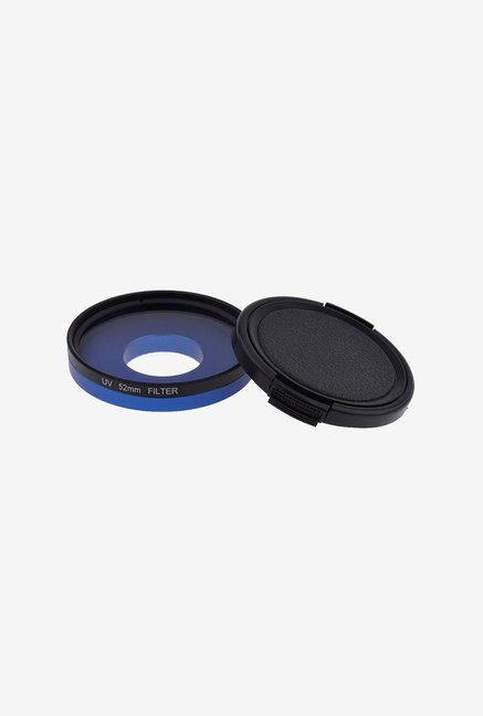 Neewer 52Mm UV Lens Filter Set for Gopro Cameras (Blue)