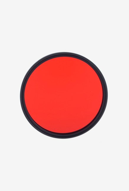 Neewer 55Mm Full Red Color Filter with 55mm Filter Thread