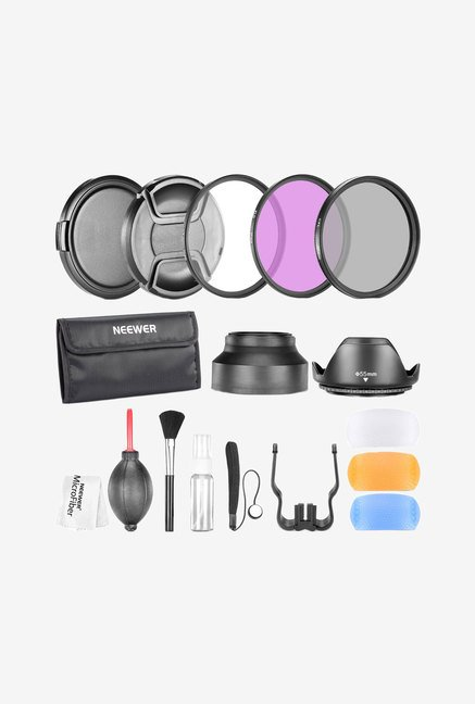 Neewer 55Mm Professional Accessory Kit (Black)