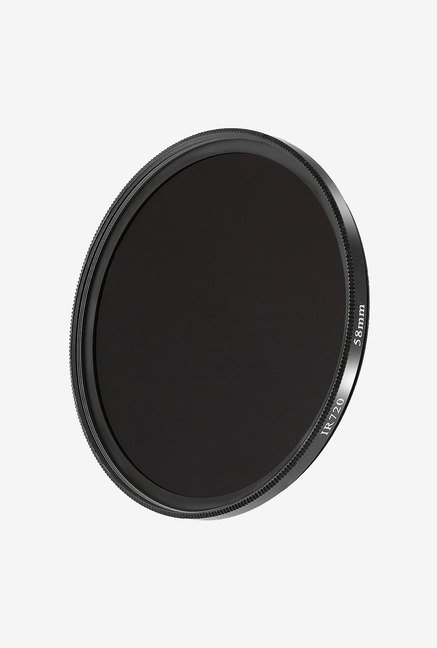 Neewer 58mm 720 Nm Infra-Red Filter for Canon T4I (Black)