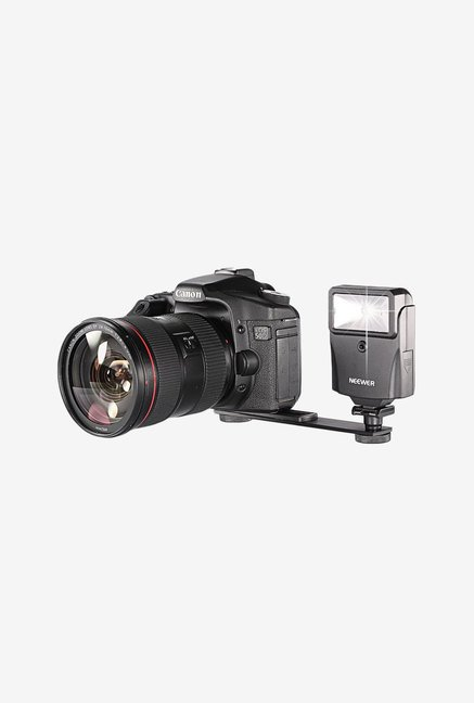 Neewer Digital Slave Flash With Bracket Set (Black)