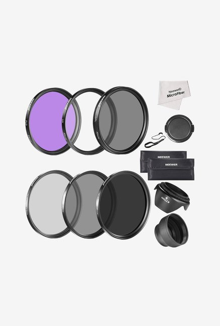 Neewer 77mm Must Have Lens Filter Accessory Kit (Black)