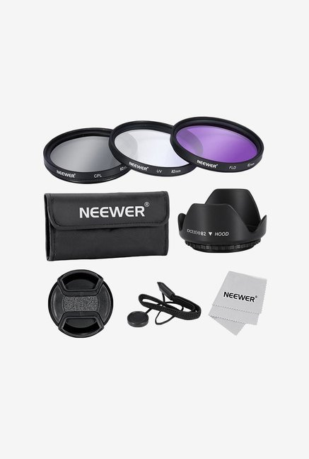 Neewer 82mm Lens Filter Accessory Kit for Lenses with Thread