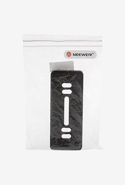 Neewer Quick Release Plate with 1/4 Screw Mount (Black)