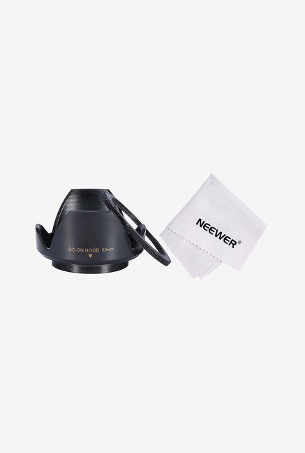 Neewer Screw-In Flower-Type Lens Hood 52Mm Filter