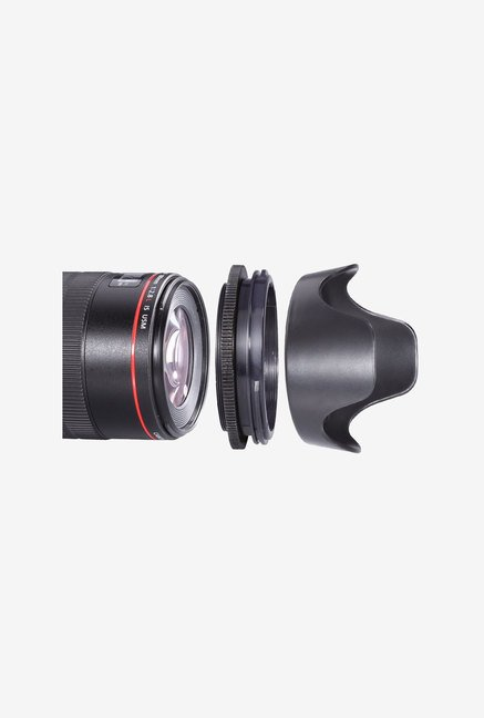 Neewer 52mm Reversible Flower-Type Lens Hood for Nikon
