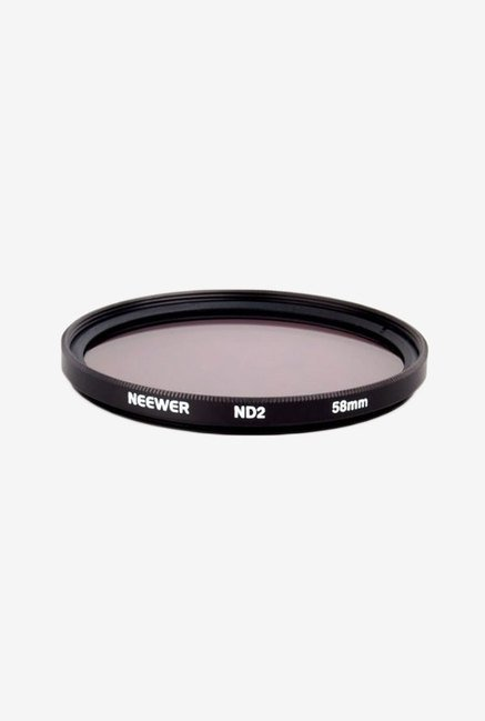 Neewer 58mm Neutral Density ND2 Filter Double Thread 58 mm