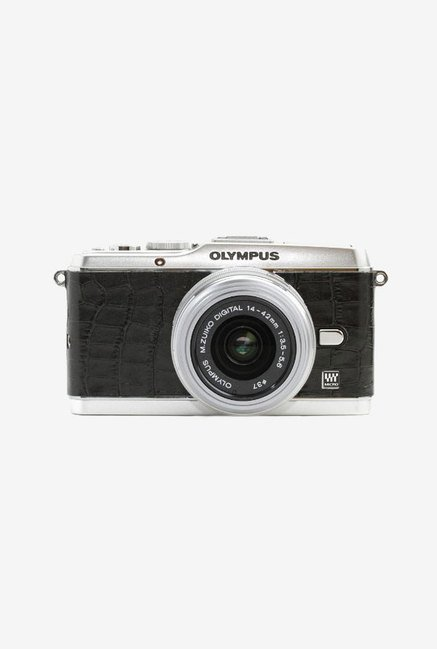 Japan hobby tool Olympus Pen E-P3 Leather Sticker (Black)
