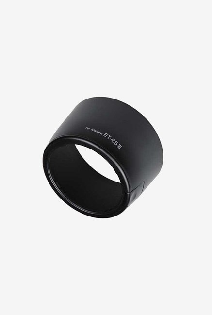 Fotodiox Dedicated Bayonet Lens Hood for Ef 85 Lens (Black)