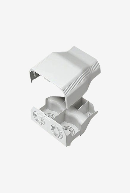 Panduit T70EEIW Raceway Entrance End Fitting (White)