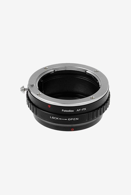 Fotodiox FX-SN-FX1 Lens Mount Adapter (Black/Silver)