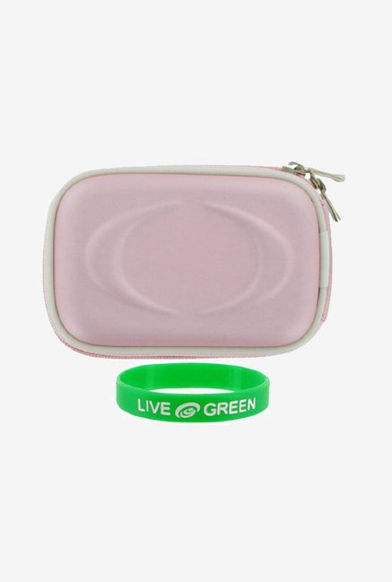 Young Micro Carrying Case for Panasonic Lumix DMC-FH1 (Pink)