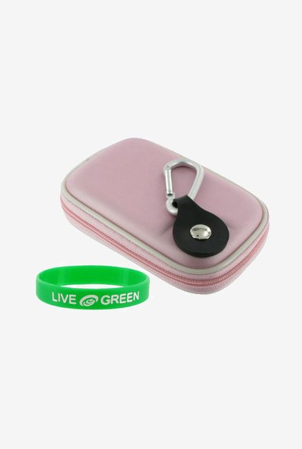 Young Micro Carrying Case for Panasonic DMC-TS10 (Pink)