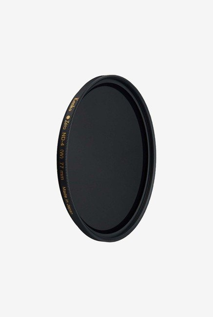 Kenko Zeta 77mm ZR SMC Ultra Thin ND4 Filter (Black)