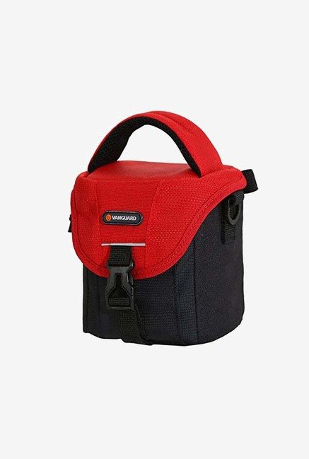 Vanguard BIIN II 10RD Camera Shoulder Bag (Black/Red)