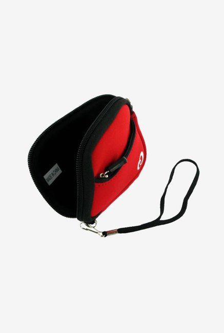 Young Micro Neoprene Sleeve Case for Casio Exilim (Red)