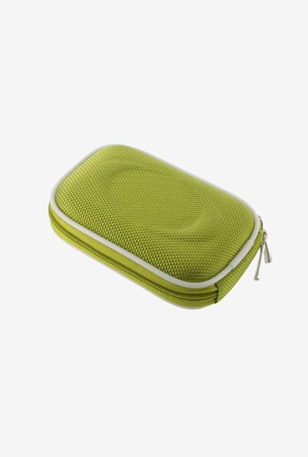 Young Micro Nylon Hard Shell Case for Canon (Green)