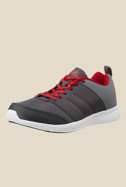 Adidas Adispree Grey & Red Running Shoes
