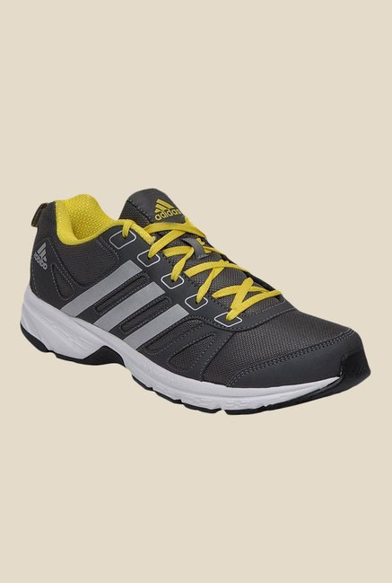 Adidas Adi Primo 1.0 Black & Grey Running Shoes