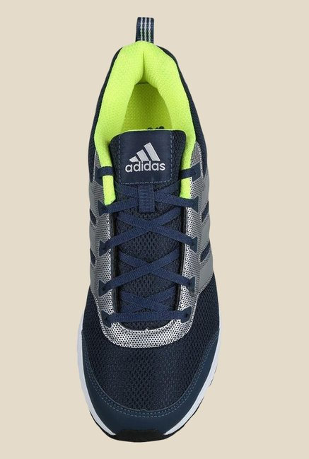 Adidas Alcor 1.0 Navy & Silver Running Shoes