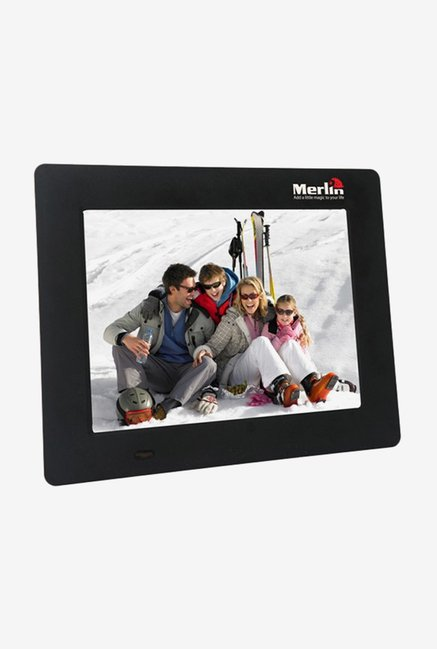 Merlin 7 inch Digital Photo Frame (Black)