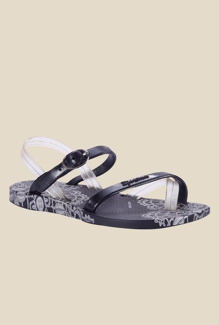 Ipanema Premium IV Black Ankle Strap Sandals