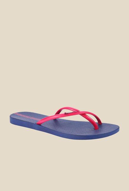 0ad06238646 Buy Ipanema Fit Summer Fem Pink   Navy Flip Flops For Women Online At Tata  CLiQ
