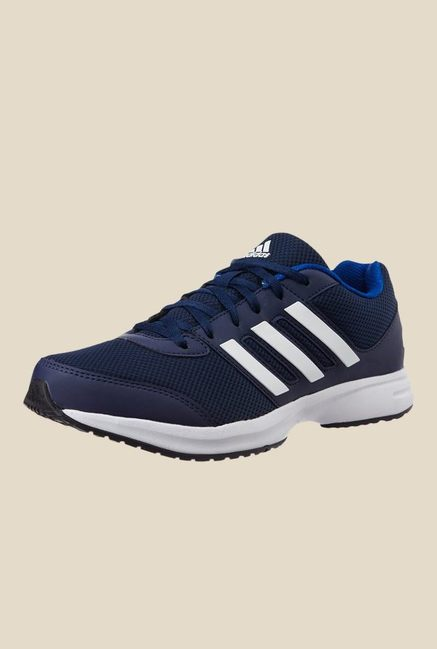 Adidas Ezar 2.0 Navy & White Running Shoes