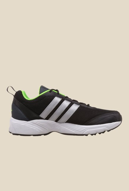 Adidas Albis 1.0 Black & Green Running Shoes