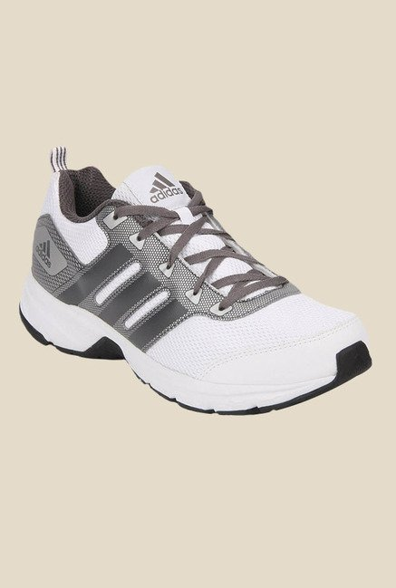 Adidas Alcor 1.0 White & Grey Running Shoes