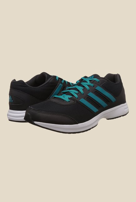 Adidas Ezar 2.0 Black & Blue Running Shoes
