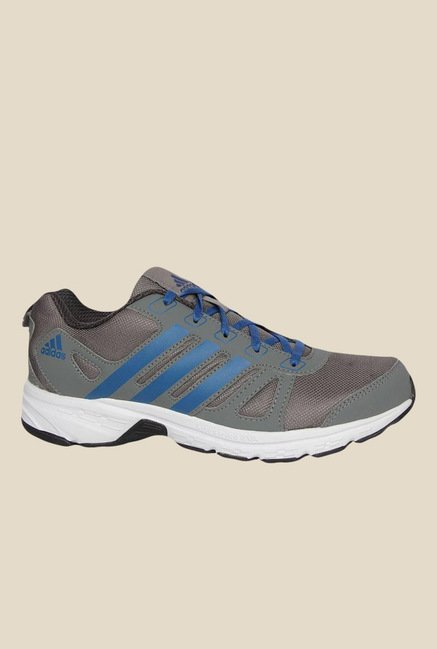 Adidas Adi Primo 1.0 Grey & Blue Running Shoes