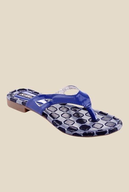 03c6962edc67d4 Buy Kielz Blue Thong Sandals For Women Online At Tata CLiQ