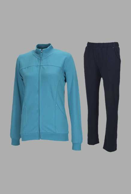 Doone Turquoise Training Tracksuit