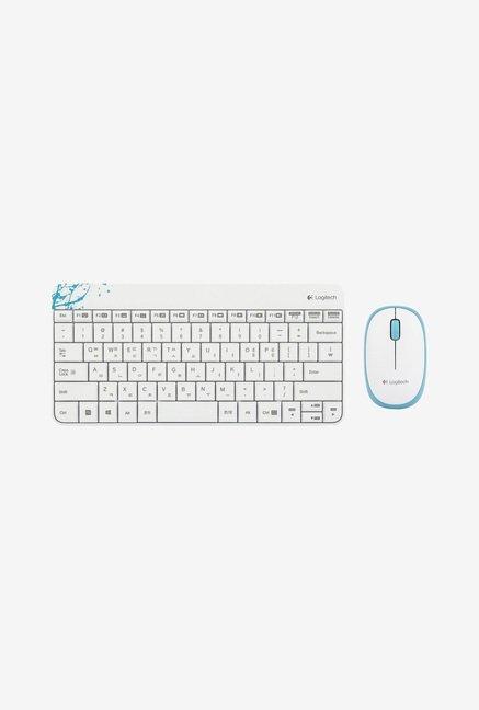 Logitech MK240 Wireless Keyboard and Mouse  White  Logitech Electronics TATA CLIQ